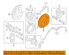 SUBARU OEM 09-13 Forester Rear Brake-Rotor 26700FG000