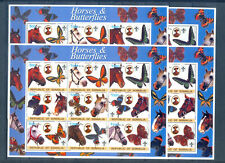 SOMALIA lot 4 SHEETS HORS, BUTTERFLIES-SCOUTING   MNH