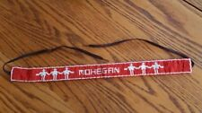 NICE HAND CRAFTED BEADED MOHEGAN DESIGN AMERICAN INDIAN HATBAND - CHOKER