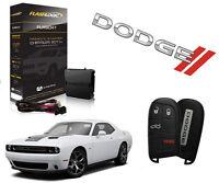2019 Dodge Challenger Remote Start Add On Plug & Play System 3X lock CH10