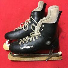 Vintage Lange for Herman's Men's Ice Hockey Skates Size 8.5