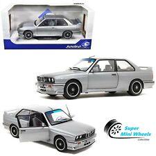 Solido 1:18 - 1990 BMW M3 E30 (Silver Metallic) - Diecast Model