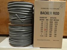 "3/4"" Closed Cell Foam  Backer Rod - 1100 Ft. - Expansion Joint"