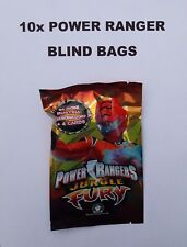 LOT (10x) POWER RANGERS ITALY / EUC JUNGLE FURY ACTION FIGURE BLIND BAGS NEW