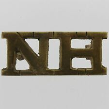 WW1 Northumberland Hussars (Yeomanry) Regiment NH Shoulder Title Badge - FW48