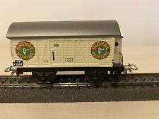 Marklin wagon type 381 avec guérite Signal Gazoline 00 Ho 1935 / 1985 0050
