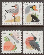 Scott #4991-94 Used Se-tenant Set of 4, Coastal Birds Pane