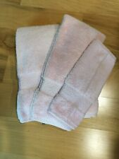 Ralph Lauren Bath Towels Seashell Pink Greenwich~3 Piece Set New