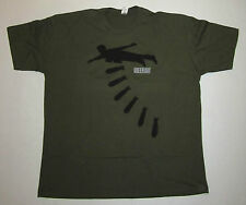 GREEN DAY DROPPING BOMBS T-SHIRT FROM 2004, SIZE XX-LARGE (2XL), PUNK ROCK