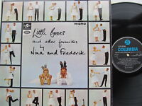 """Little Boxes & Other Favourites 12"""" Lp Nina and Frederik 33SX 1683 1964"""