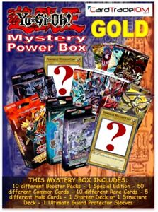 YU-GI-OH! SPECIAL BOX - GOLD EDITION - ENGLISH - STRUCTURE - BOOSTERS ETC.