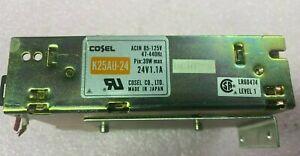 Cosel K25AU-24 Power Supply, Input 85-125V, Output 24V, 1.1A ( TESTED OK)