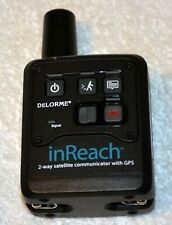 Delorme Garmin inReach 2-way Satellite Communicator SOS message GPS IOS Android