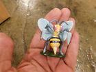 Pokemon PVC Figure TOMY Beedrill Mini Toy RARE Bumble bee HTF Clean Cake topper