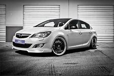 JMS racelook Front alerón labio para Opel Astra J hasta Facelift sin GTC