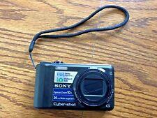 Sony Cyber-shot DSC-H55 14.1MP Digital Camera with case