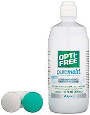 OPTI-FREE PureMoist Multi-Purpose Disinfecting Solution Alcon, 10 oz
