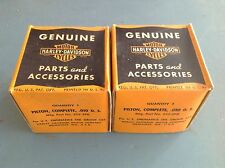 Genuine Harley Piston Set for 45 Flatheads +0.010 O.S. P/N 253-29D 22251-29