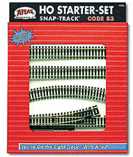 Atlas #588 HO Scale, Code 83, Track Starter Set