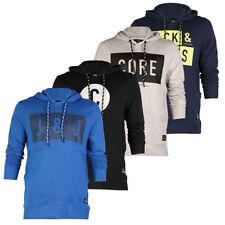 JACK JONES Cotton Long Sleeve Graphic Men's Hoodies & Sweats