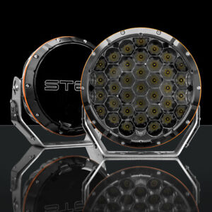 LED Driving Lights 8.5 inch Spot Lights STEDI Round Type X Sport