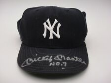 MICKEY MANTLE NO. 7 UDA & BECKETT AUTHENTICATED SIGNED AUTOGRAPH YANKEES HAT