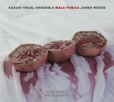 MALA PUNICA - EXAUDI VOCAL ENSEMBLE   CD NEU WEEKS,JAMES
