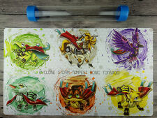 Yu-Gi-Oh Majespecter Playmat Trading Card Game Custom Mat Free High Quality Tube