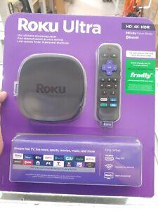 Roku 4 4400R HD & 4K UHD Streaming Media Player - Black NEW