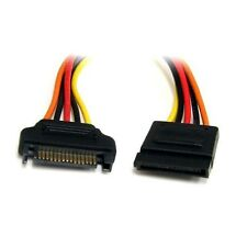 Startech.com 12in 15 Pin SATA Power Extension Cable Satapowext12