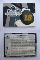 2002-03 BaP Memorabilla #5 Draft Redemption Denis Grebeshkov non redeemed  kings