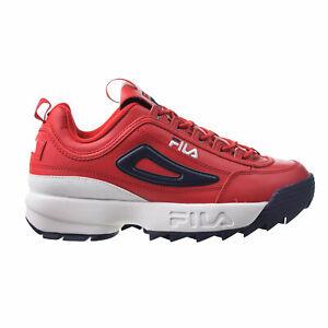 Fila Disruptor II Premium Men's Shoes Red-White-Navy 1FM00139-616
