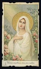 santino cromo-holy card S.LEGA n.9212 ROSA MYSTICA
