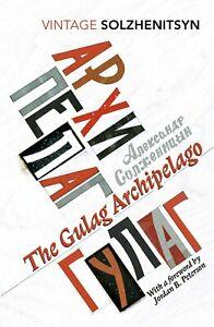 The Gulag Archipelago (Abridged edition) By Aleksandr Solzhenitsyn Paperback NEW