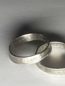 Coin Ring  - Crafted from British Sixpence 1955 ask for your ring size