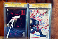 DARK KNIGHT III - Base & Miller Variant SIGNED BY FRANK & 3 Others - CGC SS 9.8!