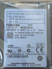 "1.8""80GB TOSHIBA MK8025GAL ZIF/CE HP Compaq mini700el 702EA 1000 1010 Hard Drive"