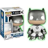 Funko POP Heroes - Super Heroes #58 White Lantern Batman (Glow in the Dark) RARE