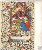 Art - cpsm - La Nativité - Manuscrit début du XVe siècle  ( i 5255)