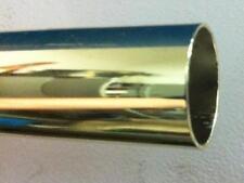 Tubo Tondo Ferro Acciaio Ottonato 18 micron mm 10x1 tende arredamento casa brico