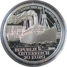 292 - 20 EUROS AUTRICHE 2006 - Marine Commerciale