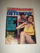 Vintage INSIDE DETECTIVE Magazine June 1983 CLEAVAGE