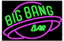 "New Big Bang Bar Purple Beer Bar Neon Light Sign 24""x20"""