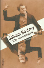 Johann Nestroy - Stich- und Schlagworte von Reinhard Urbach
