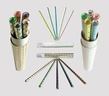 5x Bleistifte Bleistiftset m.Strasssteine Stifte Diamanten Glitzersteine Schule