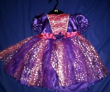 NEW BABY GIRLS PURPLE PRINCESS STAR WIZARD FANCY DRESS COSTUME AGE 6-9M ONLY £5