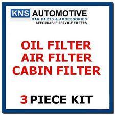 VAUXHALL ASTRA H 1.6 1.8 2.0 04-11 benzina olio, aria & Cabin Filter Service Kit v1