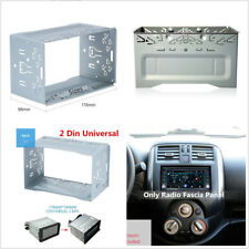 High Quality 2-Din Metal Hardware Stereo Radio Panel Mounting Frame For Car DVD