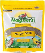 62051 Nyjer Seed Wild Bird Food, Contains 150,000 Seeds Per Pound,5-Pound Bag