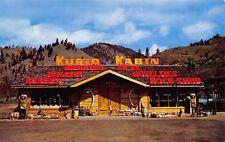 Cashmere Washington~Kurio Kabin~Roadside Novelty Store~Wooden Indians~1950s